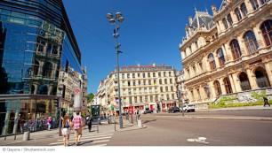 Rhône-Alpes est le parfait exemple de l'embellie que connaissent les régions. Ici Lyon.