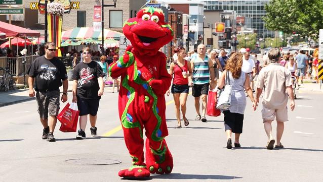 street mascotte