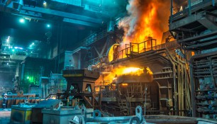 Work,Process,In,Metallurgical,Engineering,At,Manufactory,Of,Steel,Plant