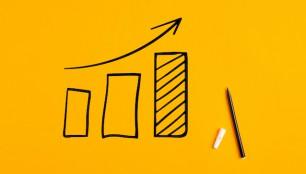 Statistical,Hand,Drawn,Financial,Graph,Predicting,An,Economic,Financial,Growth